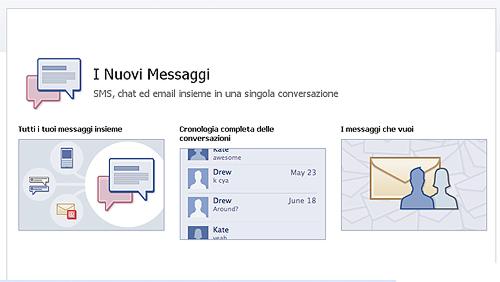 facebook-messaggi