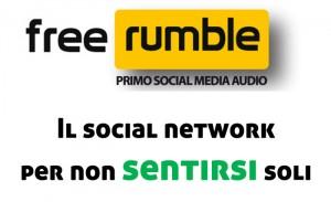 Freerumble social network