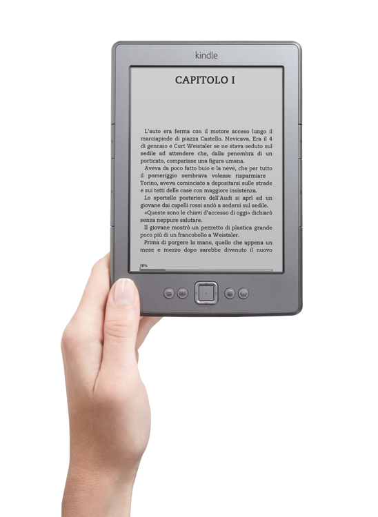Amazon.it lancia il Kindle Store in Italia e il primo Kindle in lingua italiana