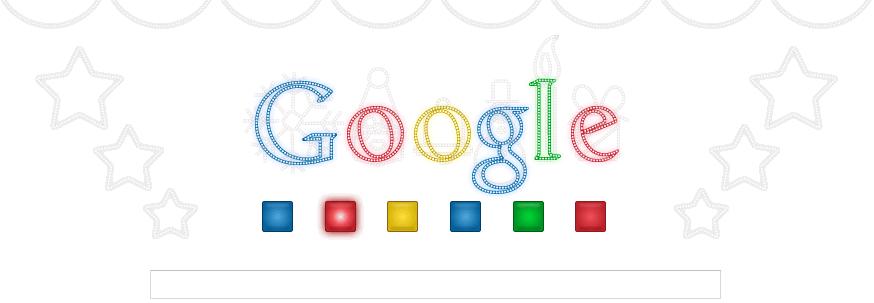 Ecco il doodle di Google che augura Buone Feste