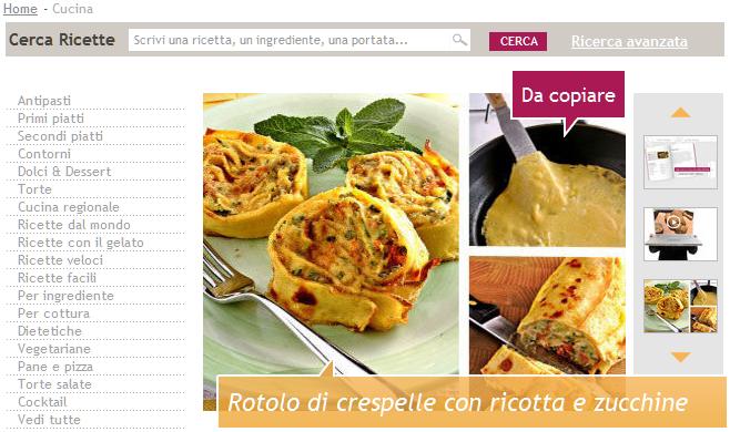 """Donnamoderna.com presenta """"La mia cucina"""", per chi ama cucinare"""