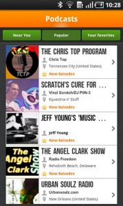 Spreaker Android_podcast