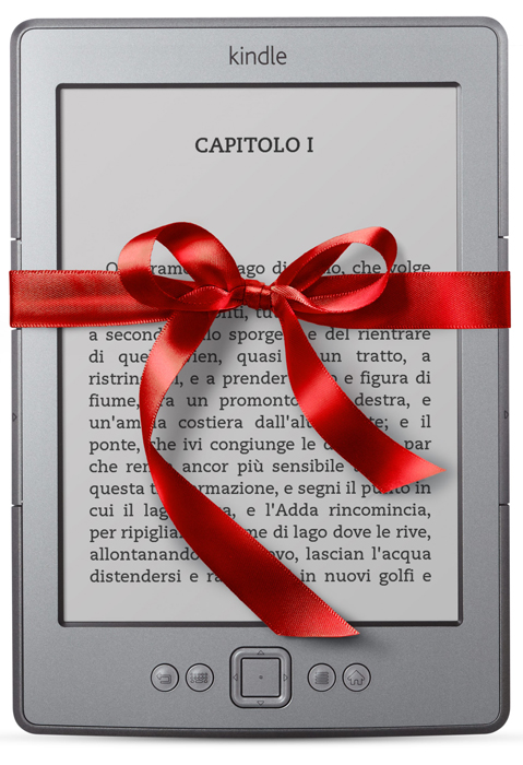 Kindle, il prodotto più venduto su Amazon.it