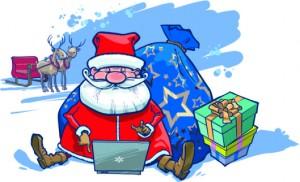 shopping online christmas