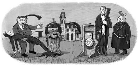 Google doodle Addams