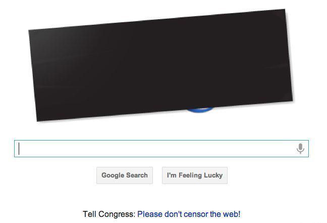 Google doodle sopa