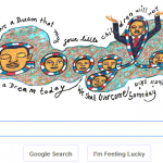 Martin Luther King Day - Google Doodle