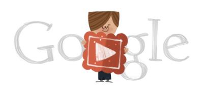 Google doodle Valentine