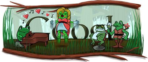 Google dedica il doodle a Gioacchino Rossini
