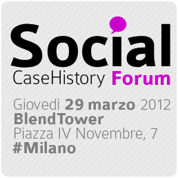Social Case History Forum, per parlare di Social Media in concreto