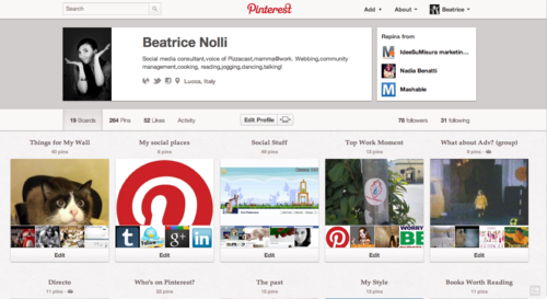 Nuovi profili per Pinterest, non solo restyle