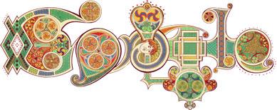 Google doodle Saint Patrick's Day