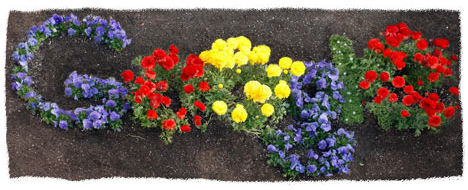 Google doodle Earth Day 2012