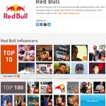 Red Bull Klout Brand Squad