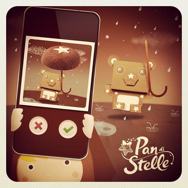 Mooncake Pan di Stelle app