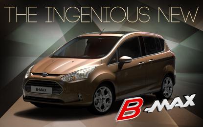 Nuova Ford B-MAX