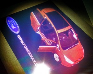 Ford B-MAX Hologram