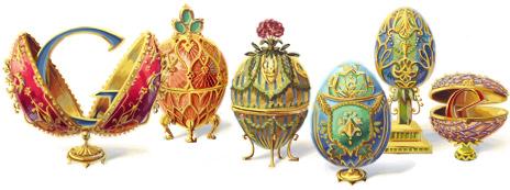 Il doodle di Google è per le uova di Peter Carl Fabergé