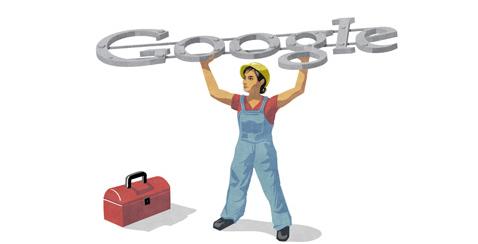 Google doodle Festa del Lavoro 2012