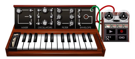 Doodle musicale su Google, omaggio a Robert Bob Moog