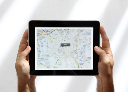 Le mappe online in Europa si consultano via smartphone