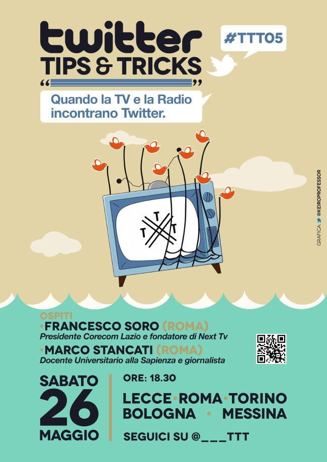#TTT05, Radio e TV incontrano Twitter