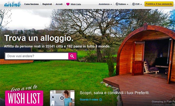 Airbnb trasforma la scoperta del viaggio social con le Wish Lists