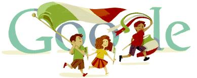Doodle Google Festa Repubblica 2012