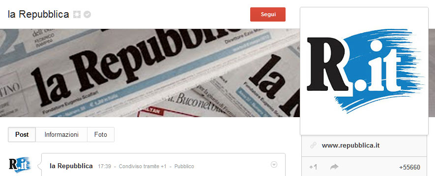 la-Repubblica---Google-Plus