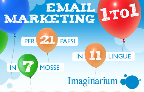 Email Marketing One to One per Imaginarium, da ContactLab [Infografica]
