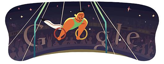 Il doodle di Google per Londra 2012 è per gli Anelli