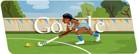 Londra 2012, Hockey sul prato è il doodle di Google del giorno