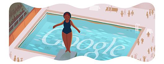 Google doodle Londra 2012 - Tuffi