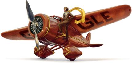 Google doodle - Amelia Earhart