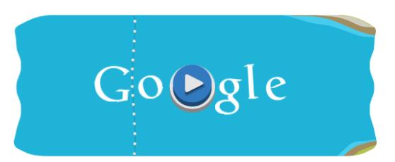 Londra 2012, il doodle giocabile di Google è lo Slalom in Canoa