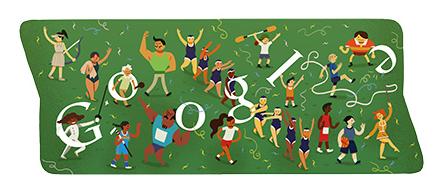 Google doodle Londra 2012 - Cerimonia di Chiusura