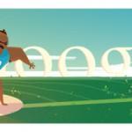 Google doodle - Londra 2012 Lancio del Peso