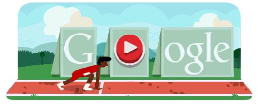 Londra 2012, doodle animato per i 100m e i 110m ostacoli su Google