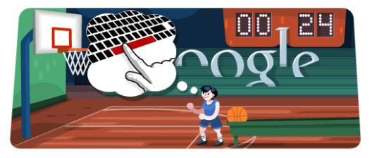 Google_doodle Londra2012 - Basket