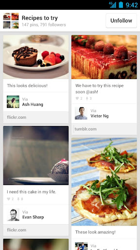 Pinterest, arriva la versione mobile per Android e iPad