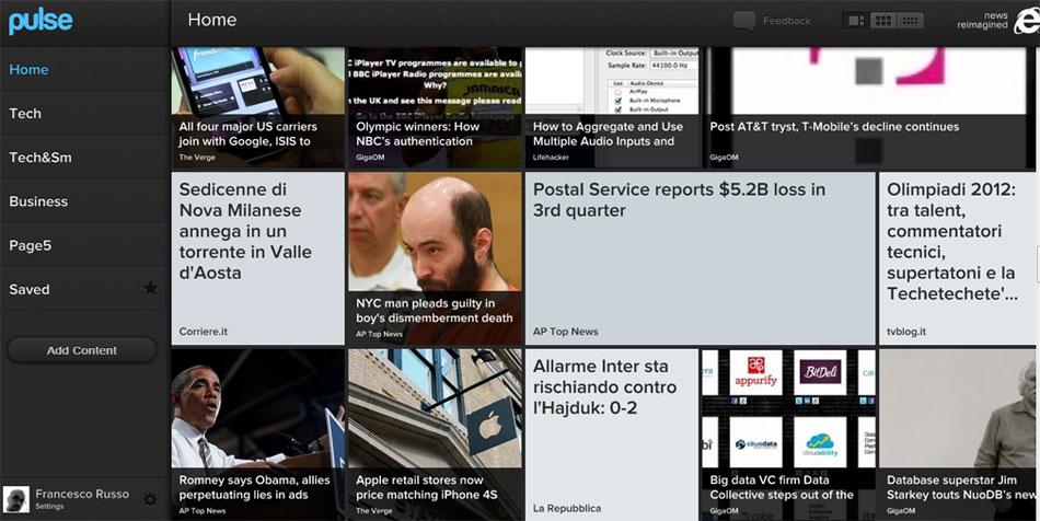 Pulse adesso è anche su web, con l'aiuto di Microsoft