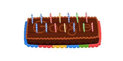 Il doodle è per i 14 anni di Google, Happy Birthday!