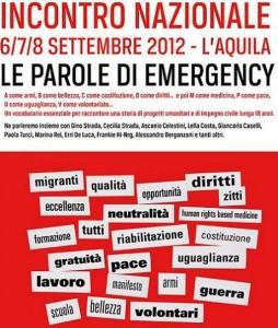 Incontronazionale Emergency 2012