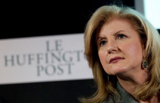 Arianna Huffington al Digital Economy Forum
