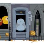Google doodle Halloween 2012