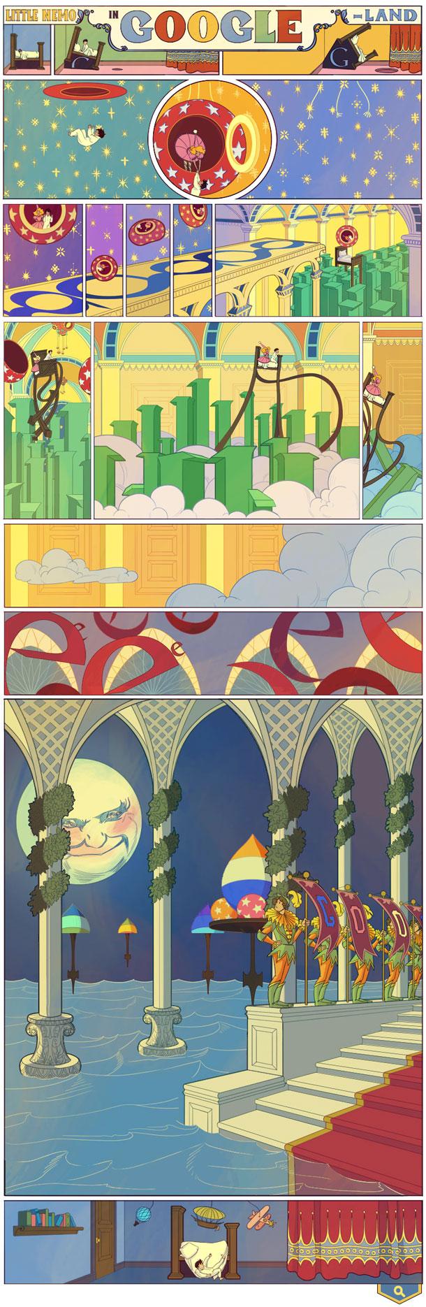 Google-doodle-Little Nemo Winsor-McCay
