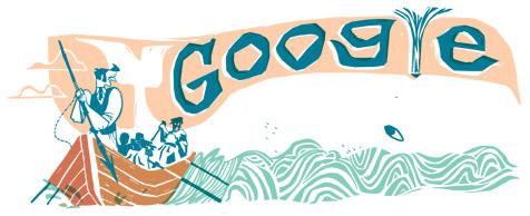 Il doodle di Google è per Moby Dick di Herman Melville