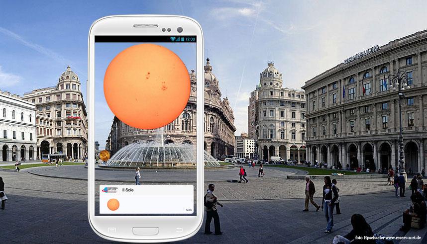 Universo in Città, il Sistema Solare visibile per le vie di Genova