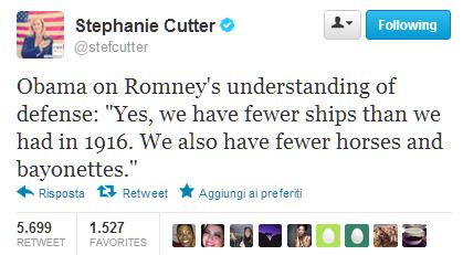 Stephanie Cutter tweets