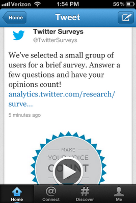 Surveys CallToAction_Twitter Nielsen
